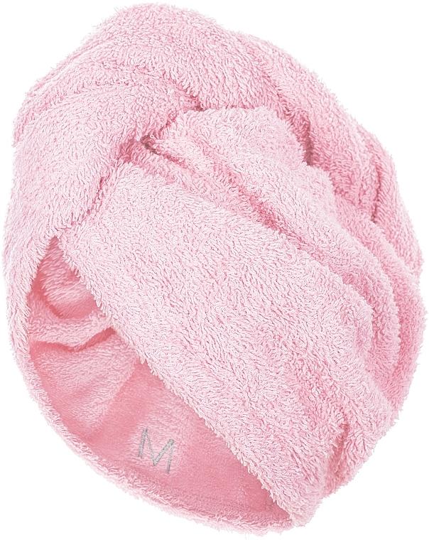 Toalla turbante, ceniza de rosas - MakeUp