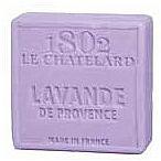 Perfumería y cosmética Jabón artesanal con pétalos de lavanda, sin aceite de palma - Le Chatelard 1802 Soap Provence Lavender