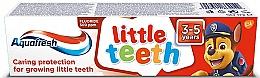 Perfumería y cosmética Pasta dental infantil de 3 a 5 años - Aquafresh Kids PAW Patrol Little Teeth