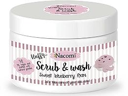 Perfumería y cosmética Exfoliante limpiador con arándanos - Nacomi Scrub and Wash Sweet Blueberry Foam