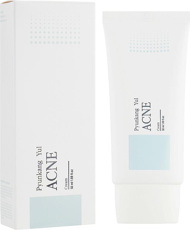 Crema facial antiacné con extracto de corteza de sauce blanco - Pyunkang Yul Acne Cream