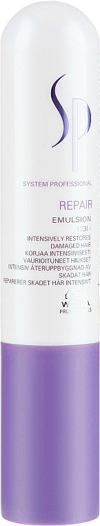 Emulsión para cabello con queratina y aceite de germen de trigo - Wella S Repair Emulsion