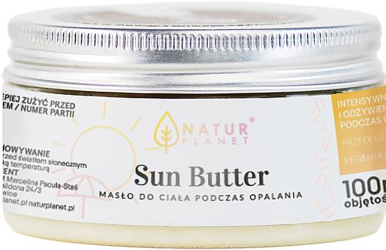 Manteca corporal bronceadora - Natur Planet Sun Butter