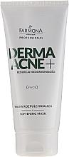 Perfumería y cosmética Mascarilla facial con extracto de linaza & aceite de almendras dulces - Farmona Derma Acne