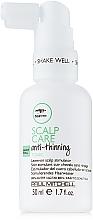 Perfumería y cosmética Tónico estimulador de cuero cabelludo con aceite de árbol de té y extracto de ginseng, sin aclarado - Paul Mitchell Tea Tree Scalp Care Anti-Thinning Tonic