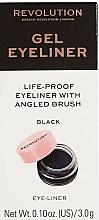 Perfumería y cosmética Delineador de ojos en gel - Makeup Revolution Gel Eyeliner Pot With Brush
