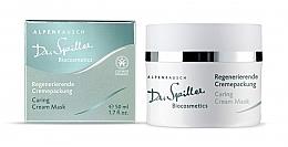 Perfumería y cosmética Mascarilla en crema revitalizante con extracto de espino amarillo y aceite fino de San Juan - Dr. Spiller Alpenrausch Caring Cream Mask