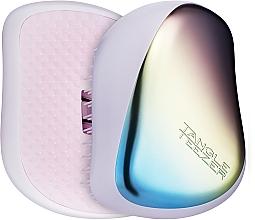Perfumería y cosmética Cepillo de pelo desenredante compacto - Tangle Teezer Compact Styler Pearlescent Matte