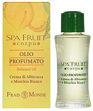 Perfumería y cosmética Frais Monde Spa Fruit Apricot And White Musk Perfumed Oil - Aceite perfumado