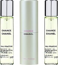 Perfumería y cosmética Chanel Chance Eau Fraiche Twist And Spray Eau De Toilette - Eau de toilette (recargas con estuche)