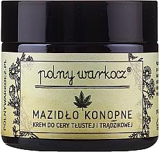Perfumería y cosmética Crema facial con aceite de cáñamo y bergamota - Polny Warkocz
