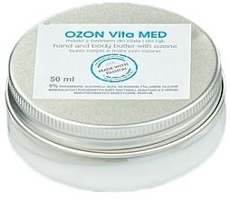 Perfumería y cosmética Manteca corporal con karité y aceite de oliva ozonizado - The Secret Soap Store Ozon Vita Med