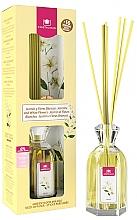 Perfumería y cosmética Ambientador Mikado con aroma a jazmín y flores blancas sin alcohol - Cristalinas Reed Diffuser