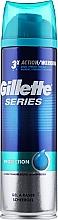 Perfumería y cosmética Gel de afeitar protector con aceite de almendras dulces - Gillette Series Protection Shave Gel for Men
