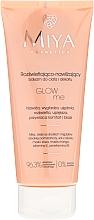 Perfumería y cosmética Bálsamo corporal iluminador e hidratante con aceite de mango, vitamina E, provitamina B5 - Miya Cosmetics Glow Me