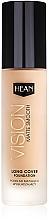 Perfumería y cosmética Base de maquillaje profesional alisante con efecto mate y aceite de argán - Hean Vision Matte Smooth Foundation