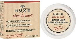 Perfumería y cosmética Bálsamo para rostro y cuerpo con miel y aceite de jojoba - Nuxe Reve de Miel Repairing Super Balm With Honey