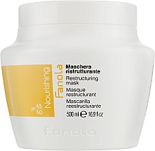 Perfumería y cosmética Mascarilla capilar reestructurante con aceite de lino y proteína de base láctea - Fanola Nutri Care Restructuring Mask