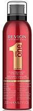 Perfumería y cosmética Tratamiento en espuma para cabello fino, sin aclarado - Revlon Professional Uniq One Fine Hair Foam Treatment