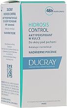 Perfumería y cosmética Desodorante antitranspirante roll on - Ducray Hidrosis Control Roll-On Anti-Transpirant