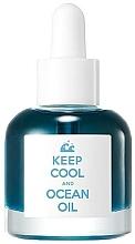 Perfumería y cosmética Aceite facial de jojoba con extracto de berenjena - Keep Cool Ocean Deep Blue Oil