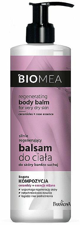 Bálsamo corporal revitalizante con esencia de rosas y ceramidas - Farmona Biomea Regenerating Body Balm