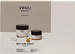 Perfumería y cosmética Set cuidado facial - Veoli Botanica Day And Night (crema/60ml + crema contorno ojos/15ml)