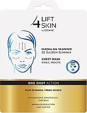 Perfumería y cosmética Mascarilla facial de tejido con extracto de baba de caracol - Lift4Skin Sheet Mask Snail Mucin