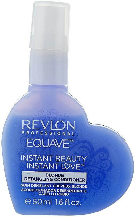 Acondicionador desenredante para cabello rubio - Revlon Professional Equave 2 Phase Blonde Detangling Conditioner — imagen N5