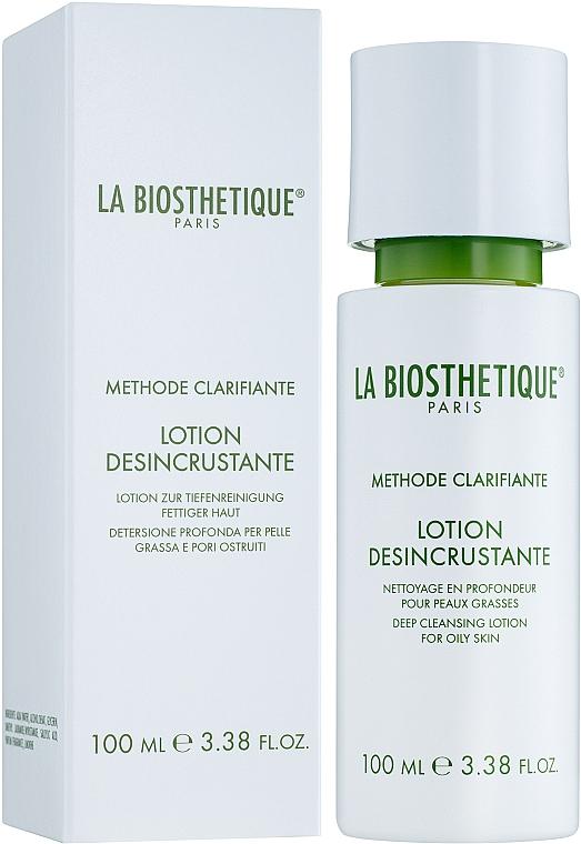 Loción facial limpiadora con glicerina - La Biosthetique Methode Clarifiante Lotion Desincrustante