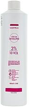 Crema oxidante profesional 10 vol. 3% - Matrix Cream Developer 10 Vol. 3 %  — imagen N1