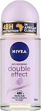 Roll-on desodorante con extracto de aguacate - Nivea Double Effect Deodorant Roll-On — imagen N2