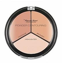 Perfumería y cosmética Paleta de contorno, iluminador y bronceador de maquillaje - Pierre Rene Powder Contouring (6 g)