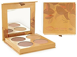Perfumería y cosmética Paleta de iluminadores - Couleur Caramel Highlighter Palette