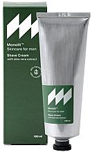 Perfumería y cosmética Crema de afeitar con extracto de aloe vera - Monolit Skincare For Men Shave Cream With Aloe Vera Extract