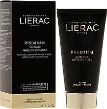 Perfumería y cosmética Mascarilla facial con extractos de orquídea negra y amapola negra - Lierac Premium Supreme Mask