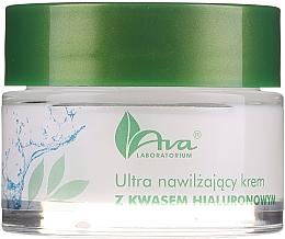 Perfumería y cosmética Crema facial hidratante con ácido hialurónico sin parabenos - AVA Laboratorium Ultra Moisturizing Hyaluronic Cream