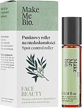 Perfumería y cosmética Sérum contorno de ojos para imperfecciones con aplicador de rodillo, con árbol de té - Make Me Bio Face Beauty Spot Control Roller