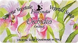 Perfumería y cosmética Jabón vegetal artesanal con aroma a orquídea - Florinda Sapone Vegetale Vegetal Soap Orchid