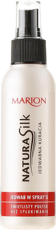 Spray capilar nutritivo con aceite de ricino y provitamina B5 - Marion Natura Silk Spray
