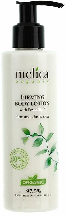 Leche corporal orgánica reafirmante, sin parabenos - Melica Organic Firming Body Lotion
