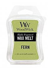 Perfumería y cosmética Cera para lámparas aromáticas, helecho - WoodWick Wax Melt Fern