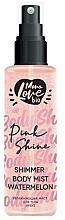Perfumería y cosmética Bruma corporal con aroma a sandía - MonoLove Bio Shimmer Body Mist Watermelon Pink Shine