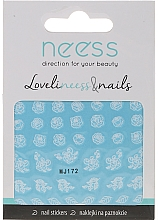 Perfumería y cosmética Pegatinas decorativas para uñas, 3692, MJ172 - Neess