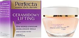 Perfumería y cosmética Crema facial antiedad - Perfecta Ceramid Lift 50+ Face Cream