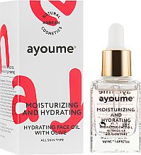 Perfumería y cosmética Aceite facial hidratante con jojoba, camelia y macadamia - Ayoume Moisturizing & Hydrating Face Oil With Olive