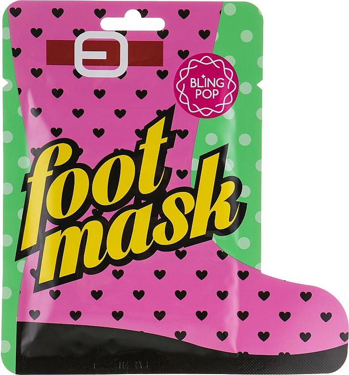 Mascarilla hidratante para pies con manteca de karité - Bling Pop Shea Butter Healing Foot Mask