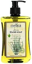 Perfumería y cosmética Jabón de manos líquido natural con extracto de aloe vera - Melica Organic Aloe Vera Liquid Soap