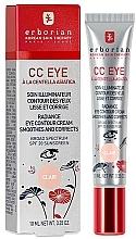 Perfumería y cosmética Crema contorno de ojos con centella asiática - Erborian Finish CC Eye Cream