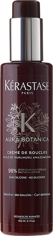 Crema para cabello natural con aceite de murumuru - Kerastase Aura Botanica Creme De Boucles — imagen N1